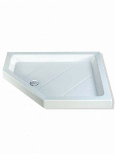 MX CLASSIC NEO OFFSET 1200X900MM SHOWER TRAY LEFT HAND INCLUDING WASTE